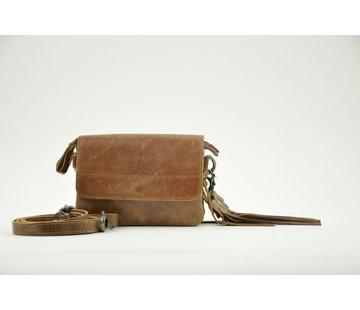 Bag2Bag Bag2Bag Tas Met Klepje Quebec Brown