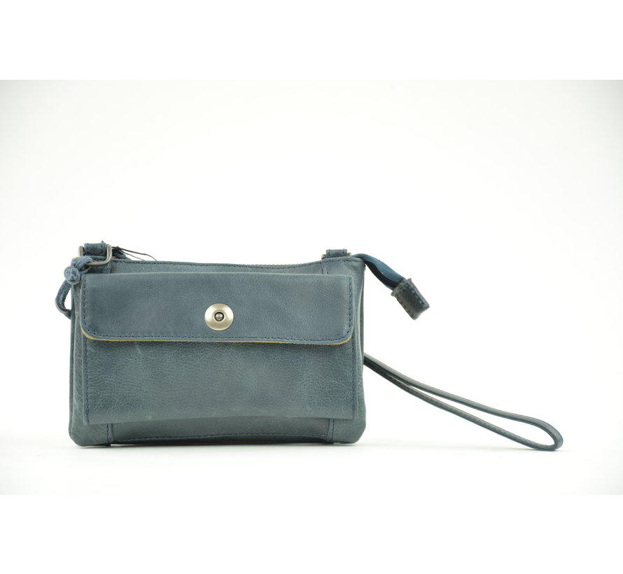 Bag2Bag Tas / Clutch Albury Blauw