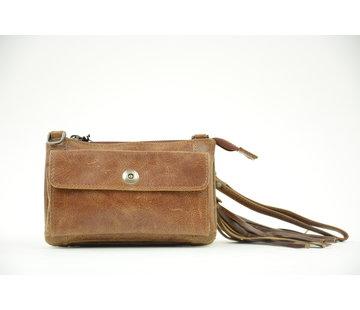 Bag2Bag Bag2Bag Tas / Clutch Albury Bruin