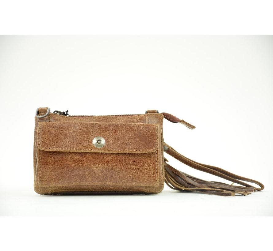 Bag2Bag Tas / Clutch Albury Bruin