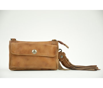 Bag2Bag Bag2Bag Tas / Clutch Albury Cognac