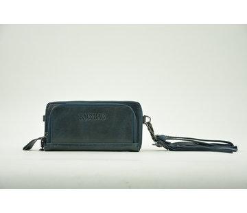 Bag2Bag Bag2Bag Portemonnee met Telefoonvak Blauw