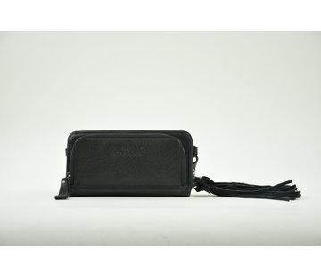 Bag2Bag Bag2Bag Portemonnee met Telefoonvak Zwart