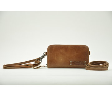 Bag2Bag Bag2Bag Portemonnee met Schouderband Bruin