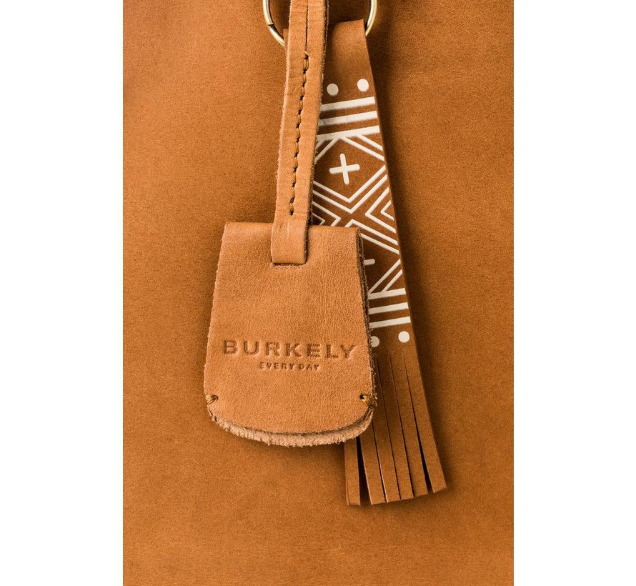 Burkely Schoudertas Desert Daisy Pocket Cognac