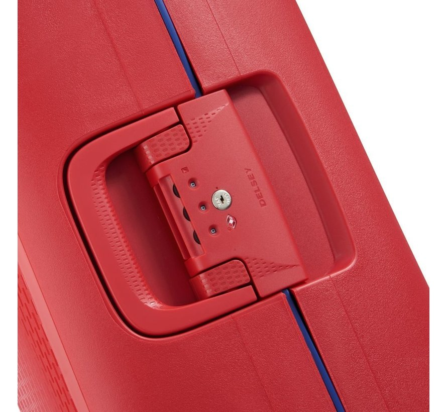 Delsey Koffer Aanbieding Moncey Groot 76 Rood