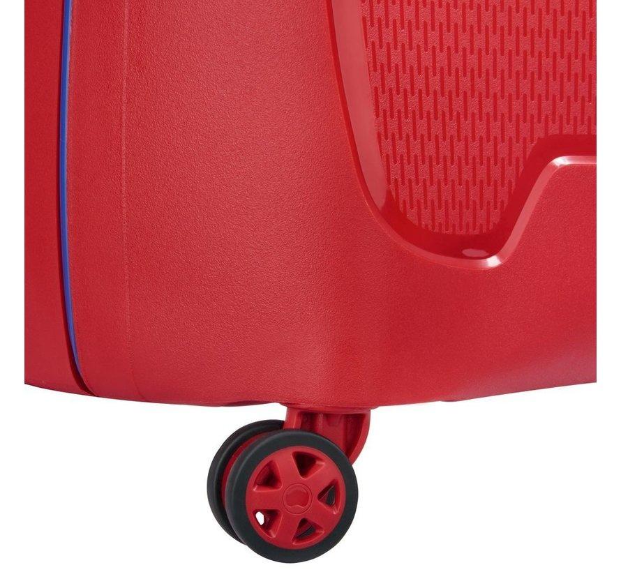 Delsey Koffer Aanbieding Moncey Medium 69 Rood