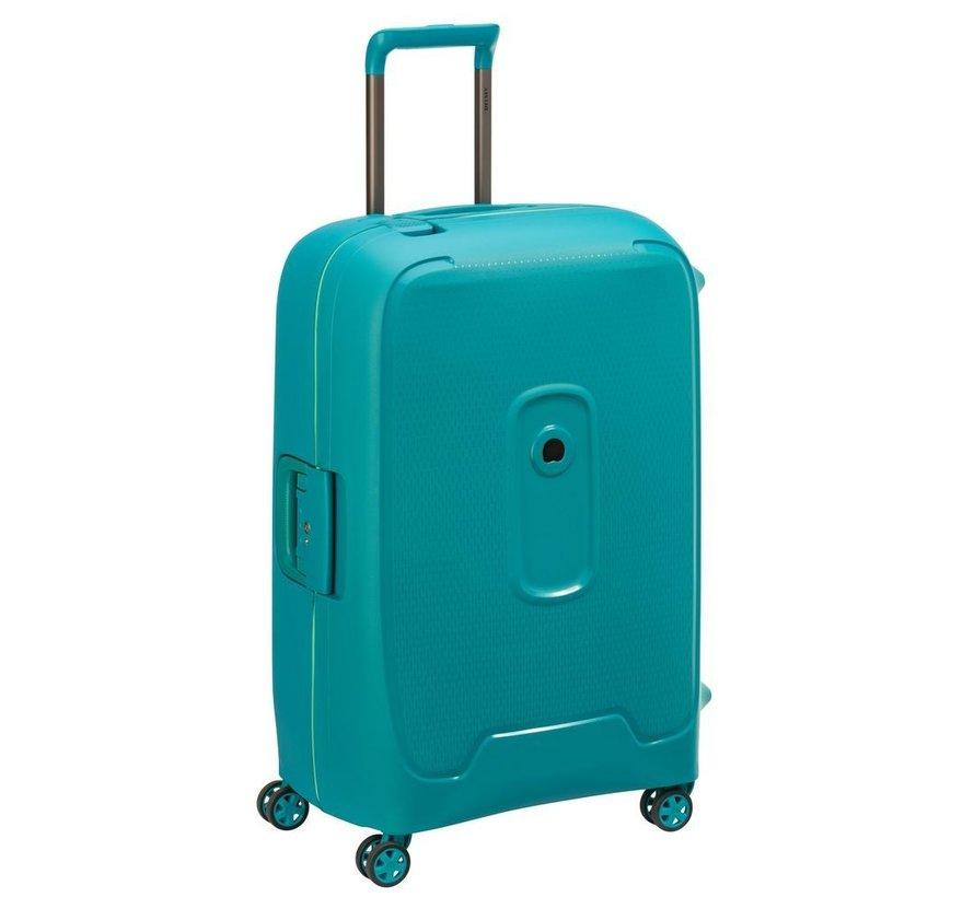 Delsey Koffer Aanbieding Moncey Medium 69 Green