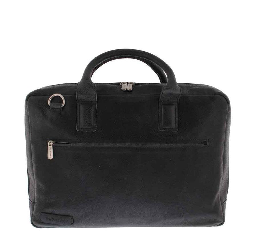 """Laptoptas 17,3"""" Businessbag Surrey Zwart"""