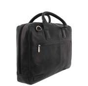 """Plevier Laptoptas 17,3"""" Businessbag Surrey Zwart"""