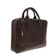 "Plevier Plevier Laptoptas 17,3"" Businessbag Surrey Bruin"