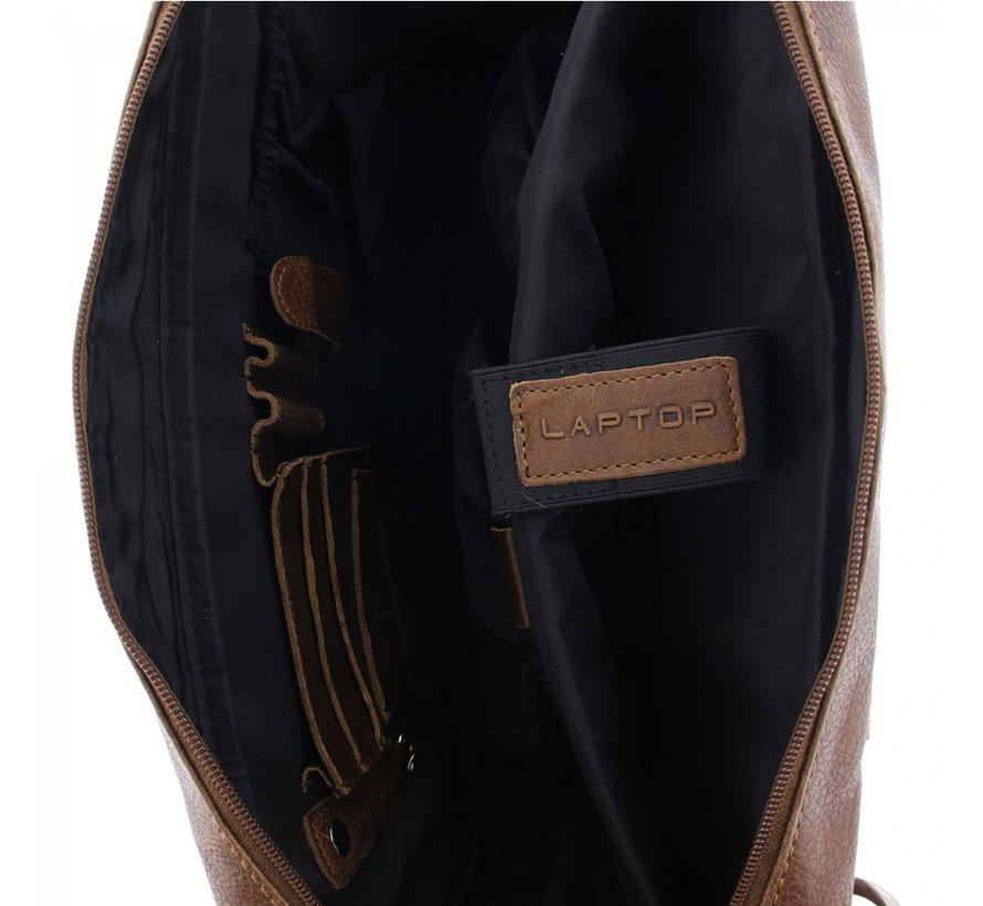 "Laptoptas 17,3"" Businessbag Surrey Cognac"