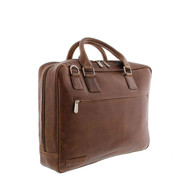 "Plevier Plevier Laptoptas 17,3"" Businessbag Surrey Cognac"