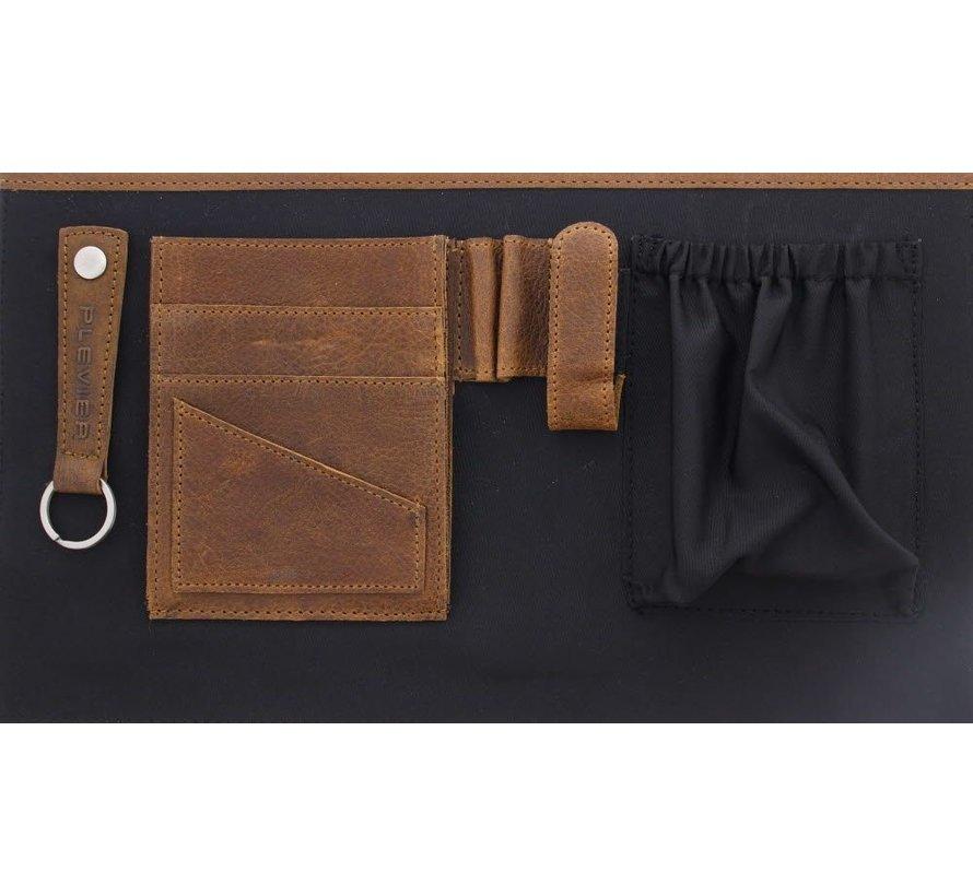 """Plevier Laptoptas 15,6"""" Vintage Londen Bruin"""
