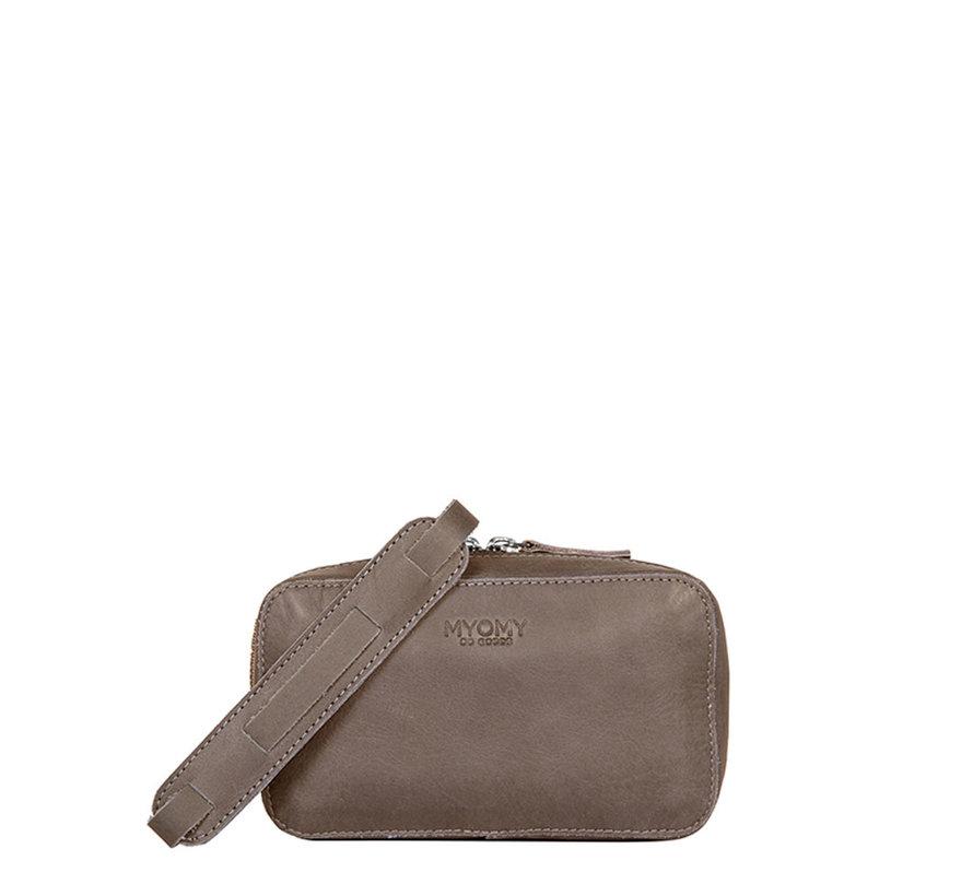 MYOMY My Boxy Bag Hunter Taupe