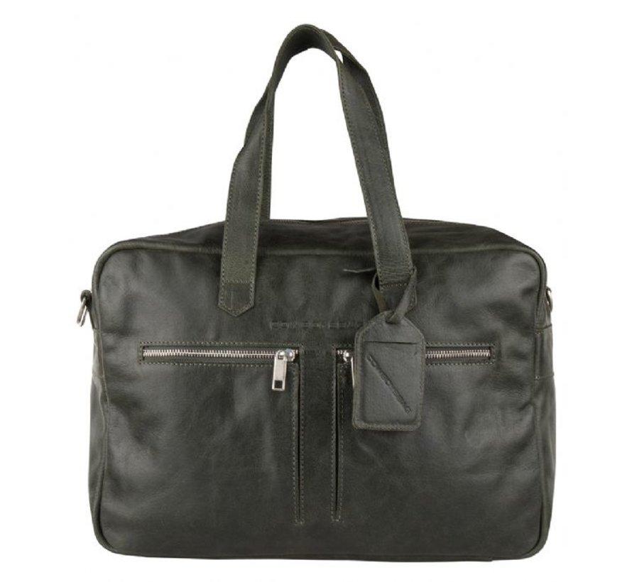 Cowboysbag Bag Kyle Schooltas Groen