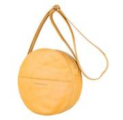 Cowboysbag Cowboysbag Ronde Schoudertas Bag Clay Geel