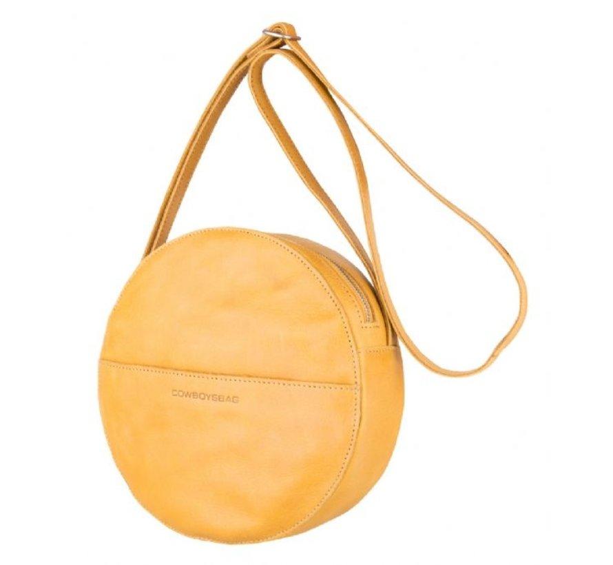 Cowboysbag Ronde Schoudertas Bag Clay Geel