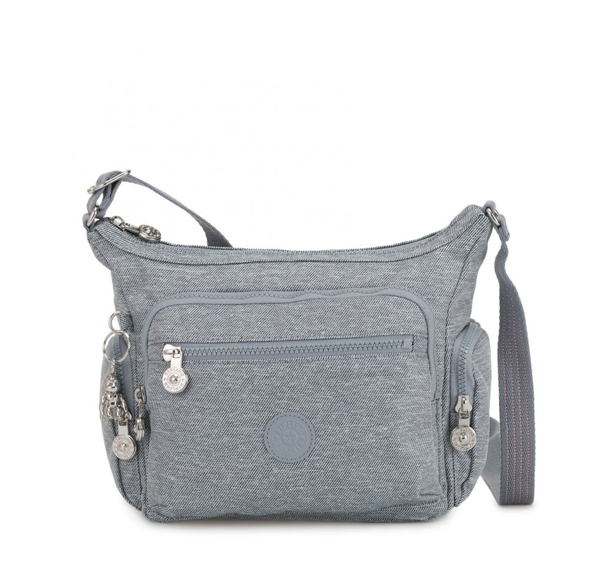 Kipling Schoudertas Gabbie S Cool Denim