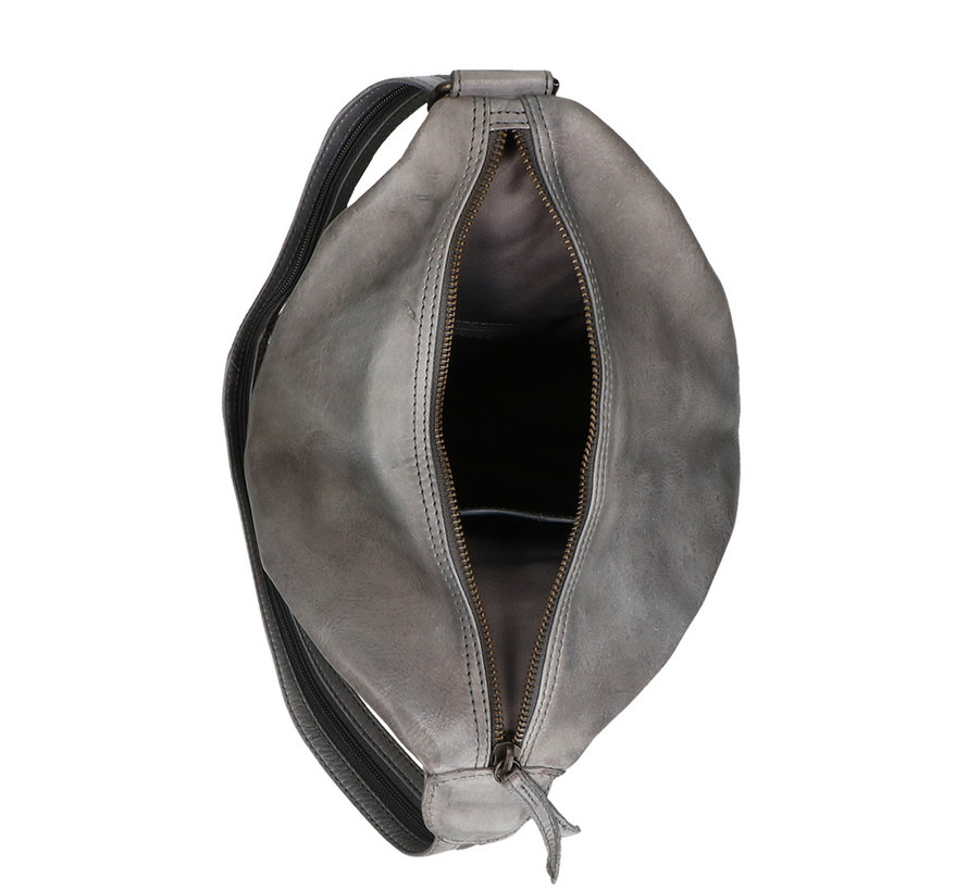 Bear Design Leren Rugzak Cow Lovato Steel Grey