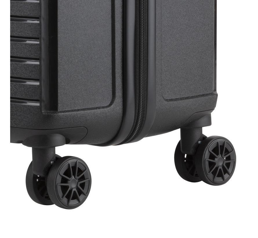 CarryOn Transport Harde Koffer Groot 79 Zwart