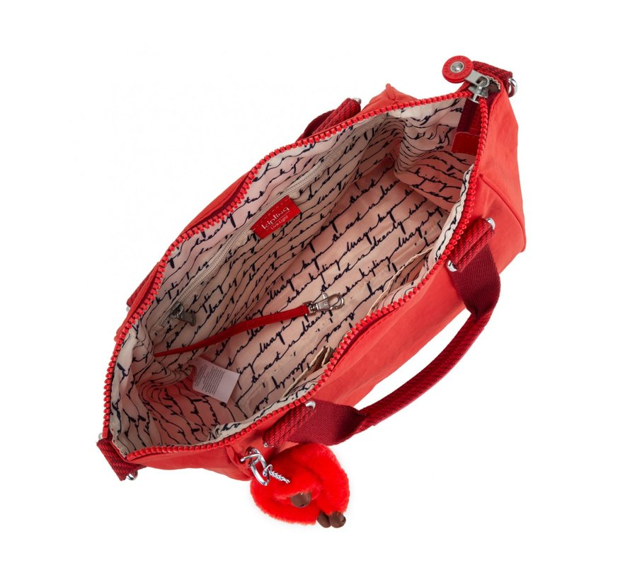 Kipling Handtas Amiel Active Red