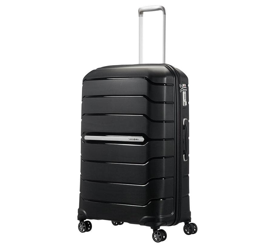 Samsonite Harde Koffer Expandable Flux 75 Black