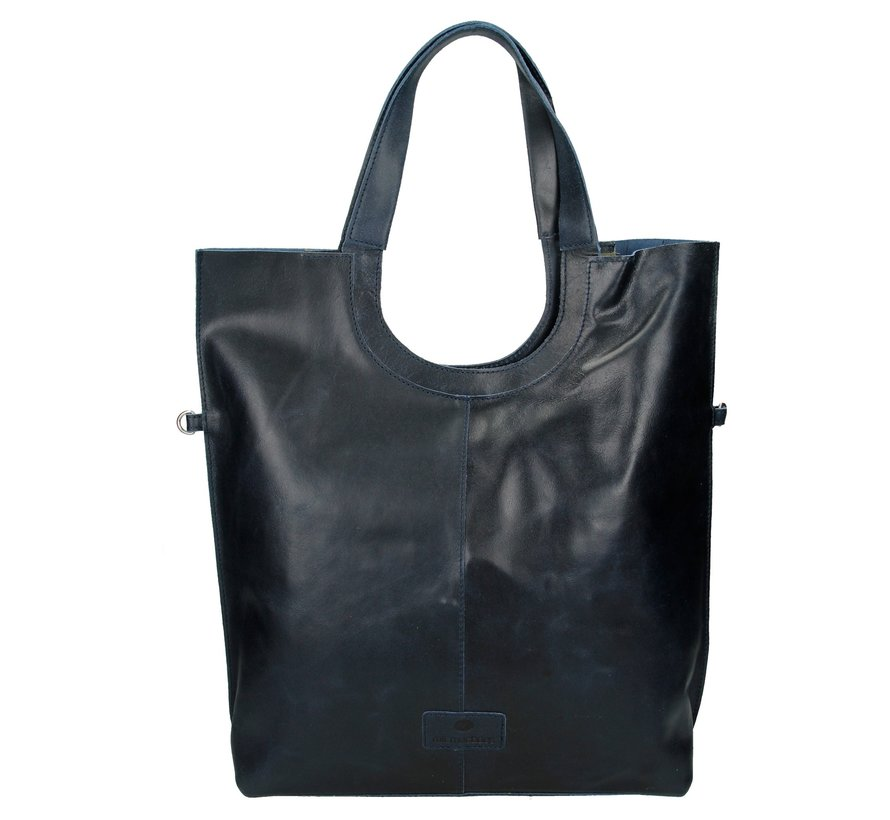 Micmacbags Shopper Groot Indiana Blauw