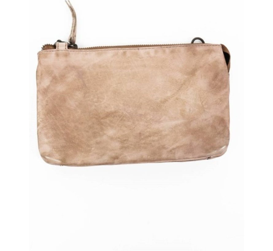 Bear Design Tas - Clutch Cow Lavato Hazelnut