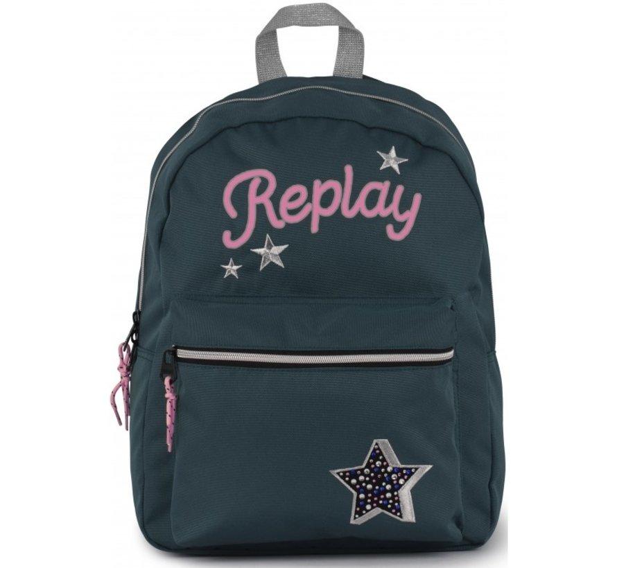 Rugzak Replay Girl Stars Medium