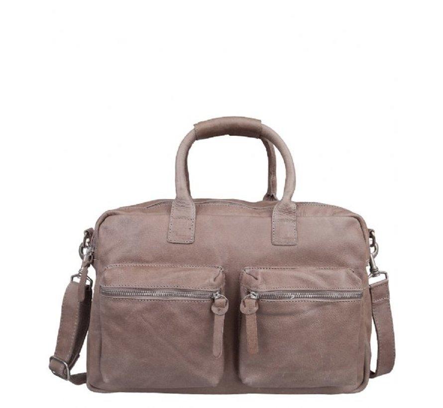 Cowboysbag Schooltas The Bag Elephant Grey