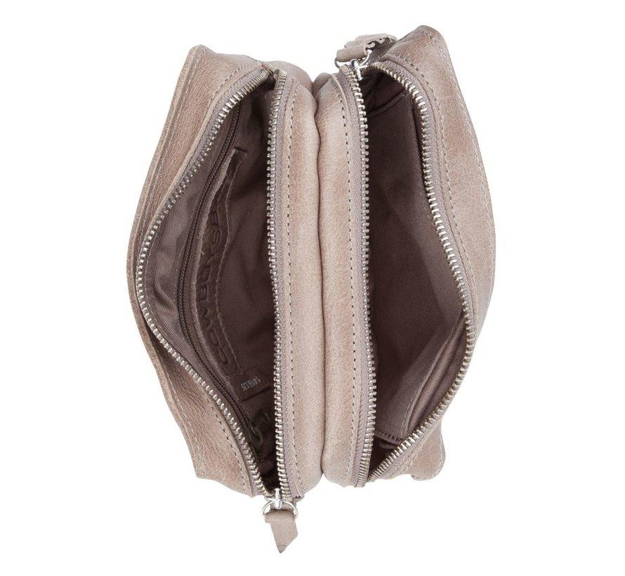 Cowboysbag Schoudertas Folkestone Elephant Grey