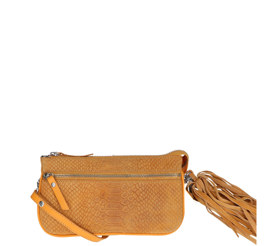 Bag Pouch Suger Snake Yellow