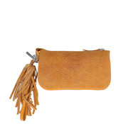 By LouLou Essentiels Bag Pouch Suger Snake Yellow