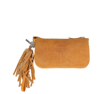 By LouLou / LouLou Essentiels Lou Lou Essentiels Bag Pouch Suger Snake Yellow