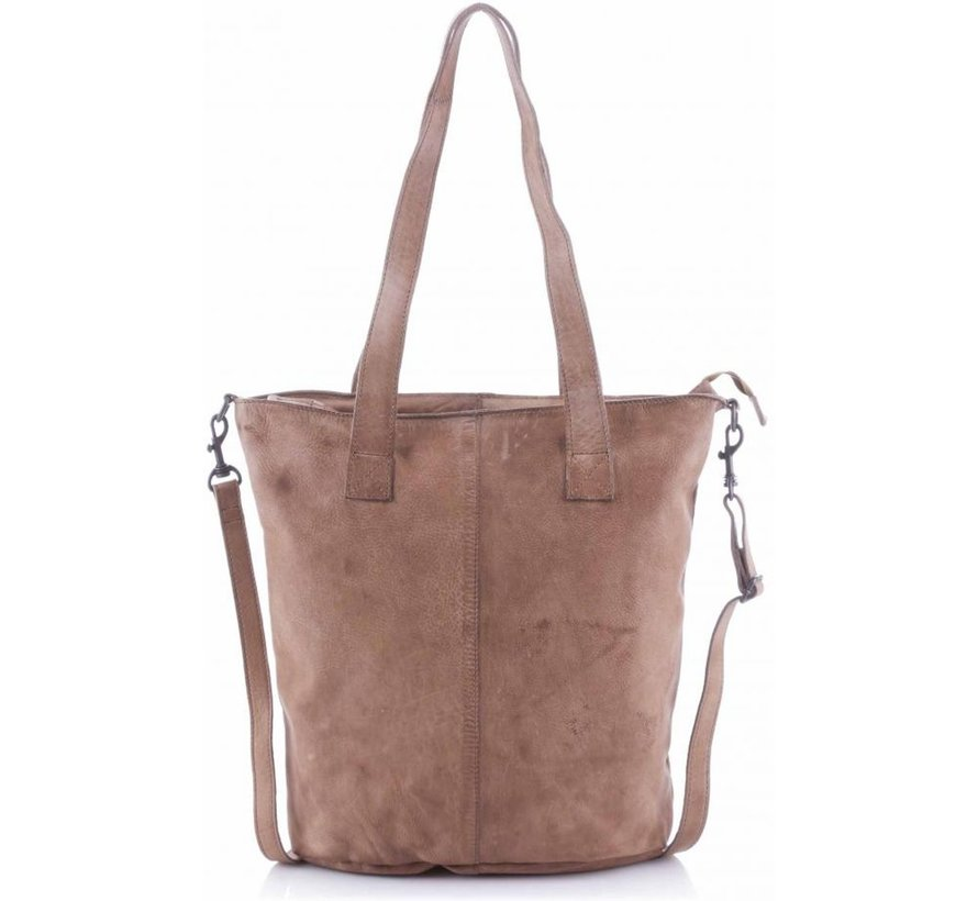 Bear Design Shopper Callisto-Pelle Rhino Grey