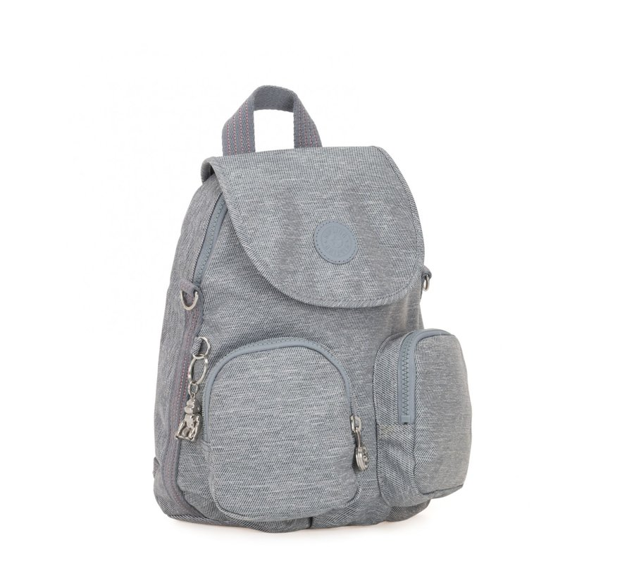 Kipling Rugzak / Schoudertas Firefly Up Cool Denim