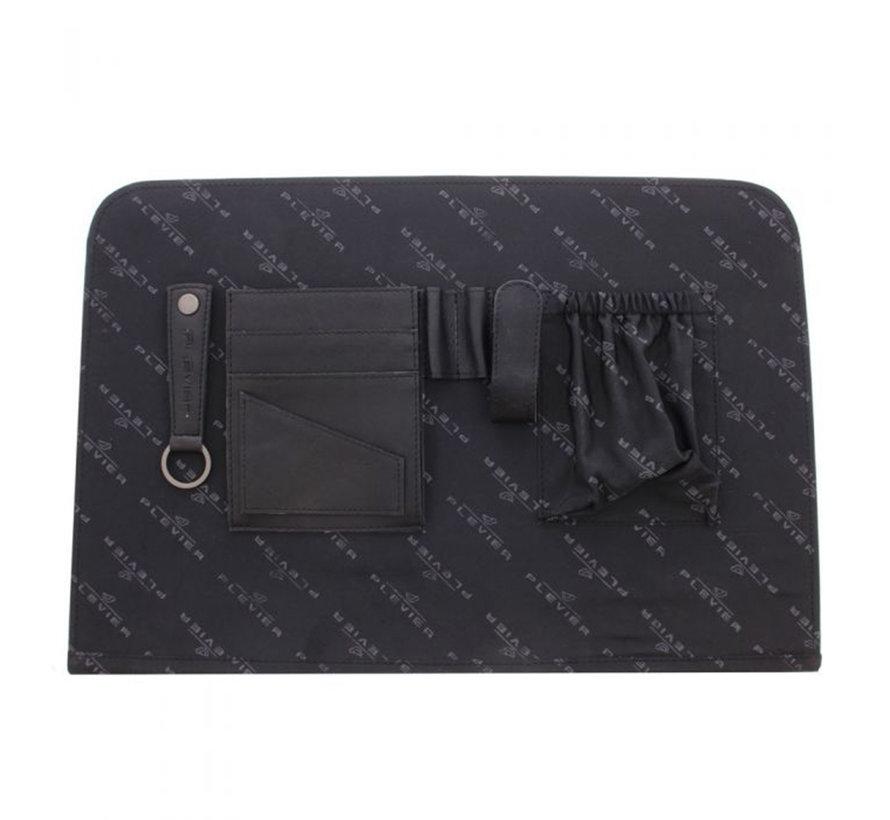 "Plevier Laptoptas 15,6"" Wax Transponder Zwart"