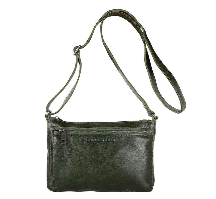 Cowboysbag Schoudertas Bag Huron Dark Green