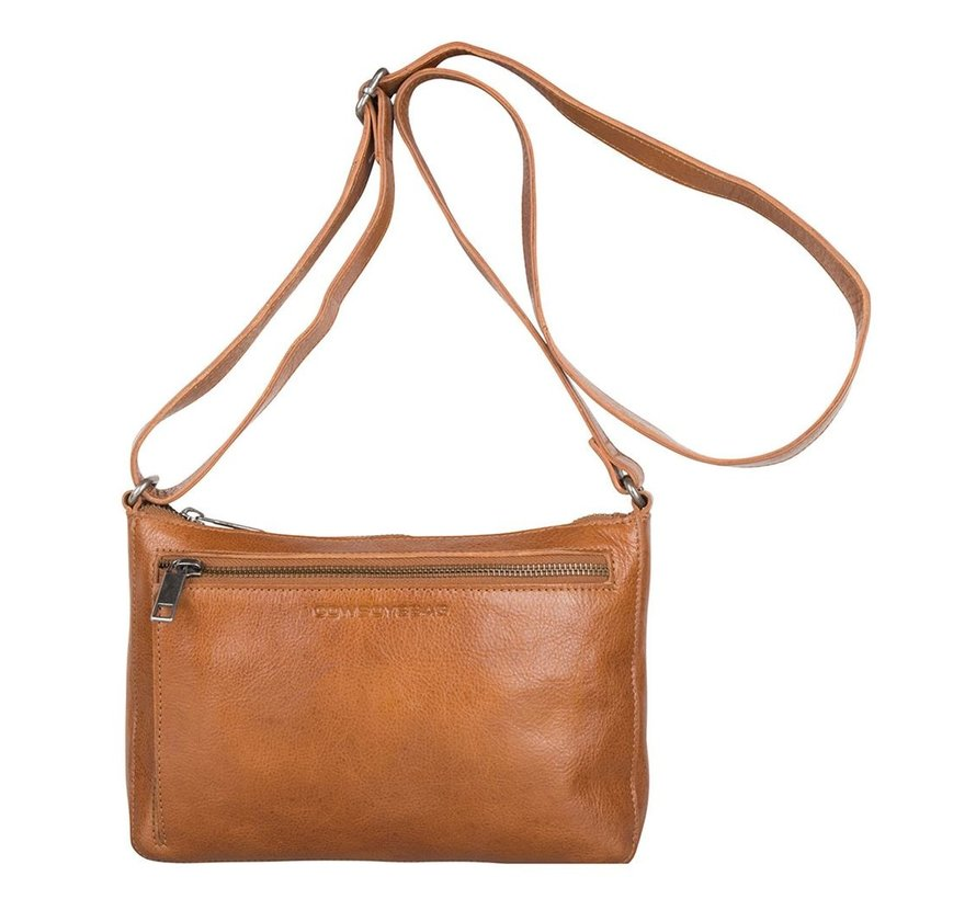 Cowboysbag Schoudertas Bag Huron Juicy Tan