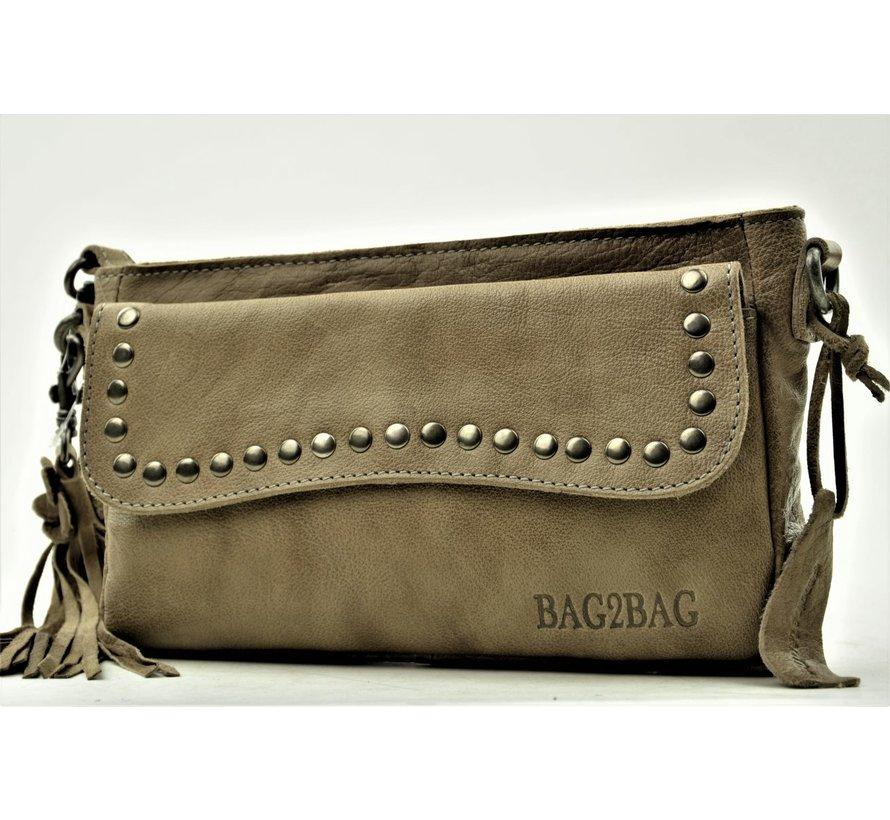 Bag2Bag Clutchbag Utah Grijs