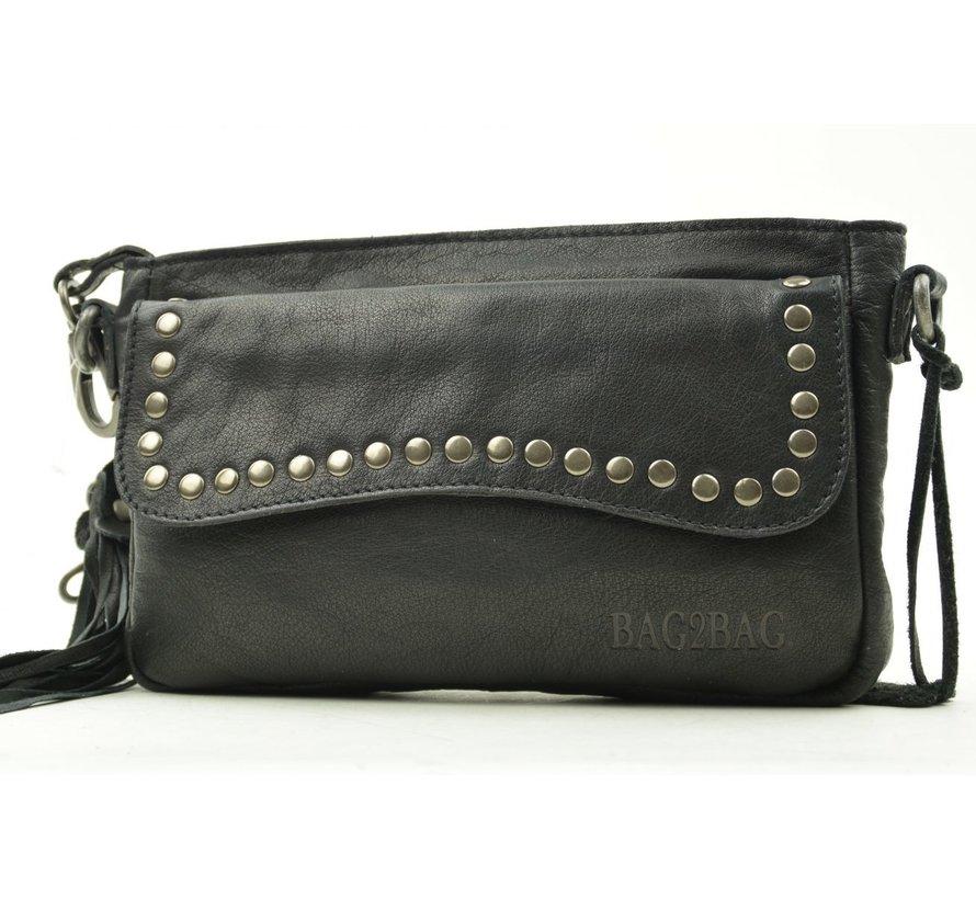 Bag2Bag Clutchbag Utah Zwart