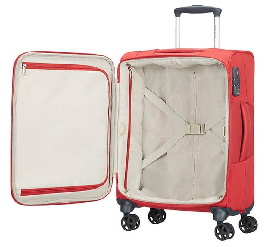 Handbagage 55x40x20 Dynamo Rood
