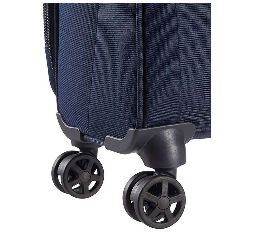Samsonite Handbagage 55x40x20 Dynamo Blauw
