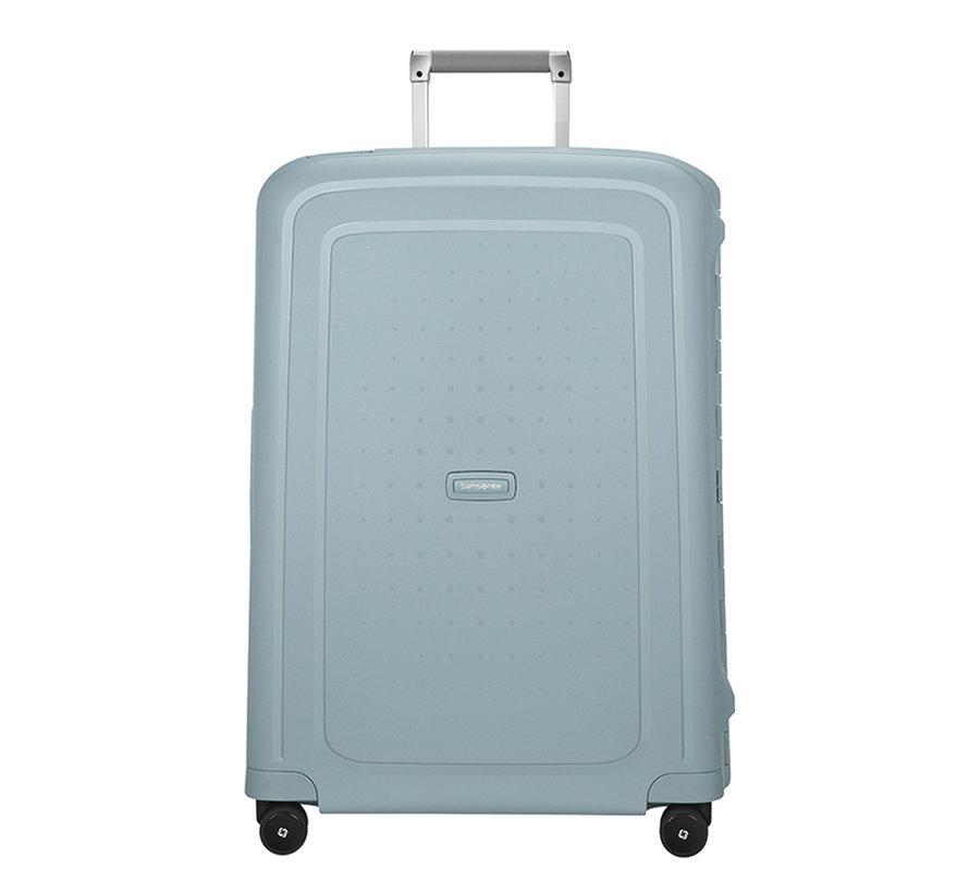Samsonite Harde Koffer S'Cure Spinner 81 Stone Blue