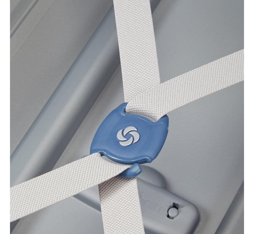 Samsonite Harde Koffer S'Cure Medium 68 Silver