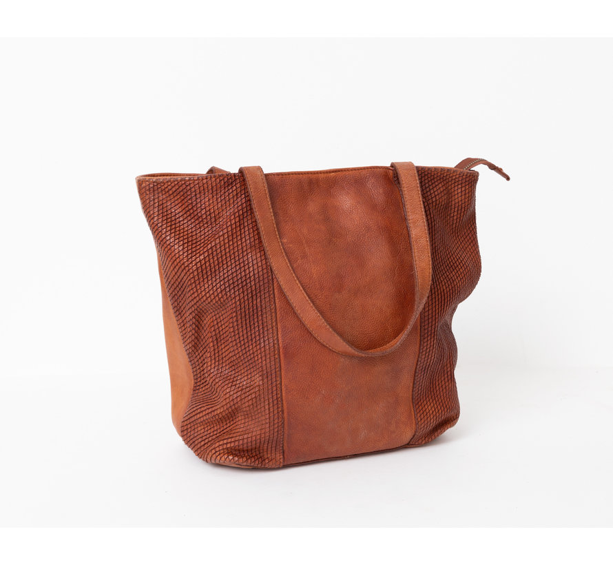 Bag2Bag Minto Shopper Cognac