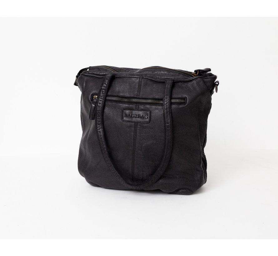 Bag2Bag Minto Shopper Zwart