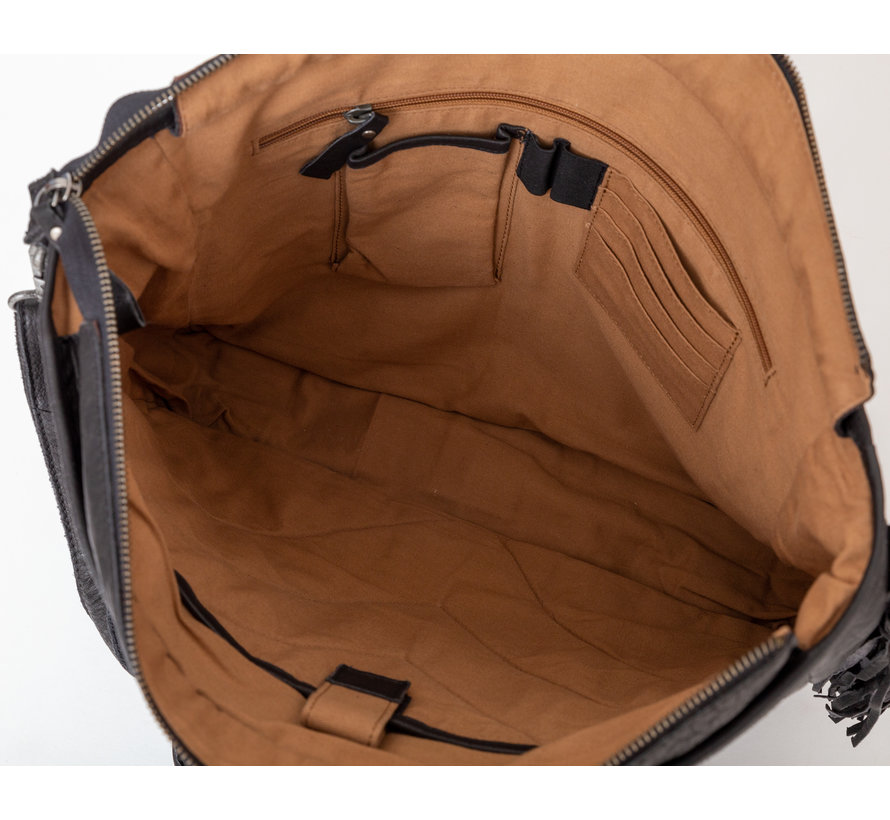 Bag2Bag Kelsey Laptoptas Zwart