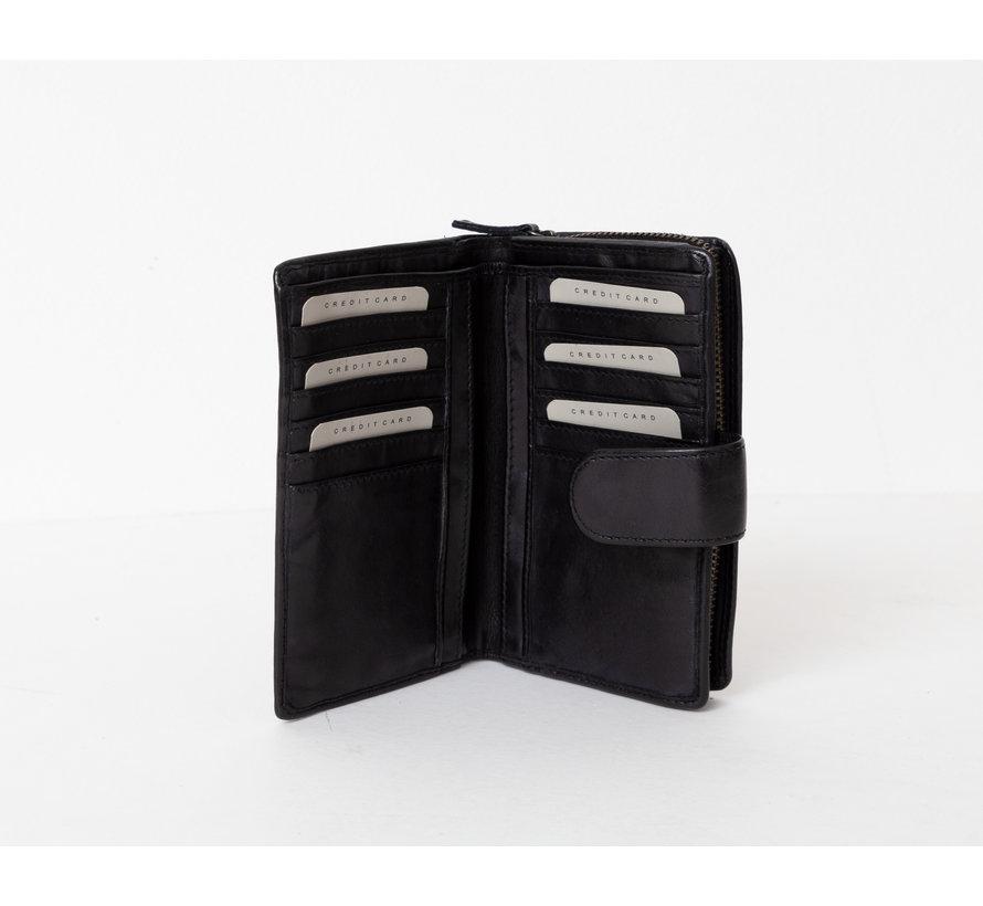Bag2Bag La Fe Portemonnee Limited Edition Zwart